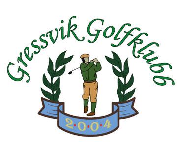Bilde av Gressvik Golfklubb sin nye logo