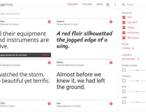 Google fonts i ny drakt