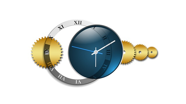 En klokke som symboliserer hvor fort tiden går