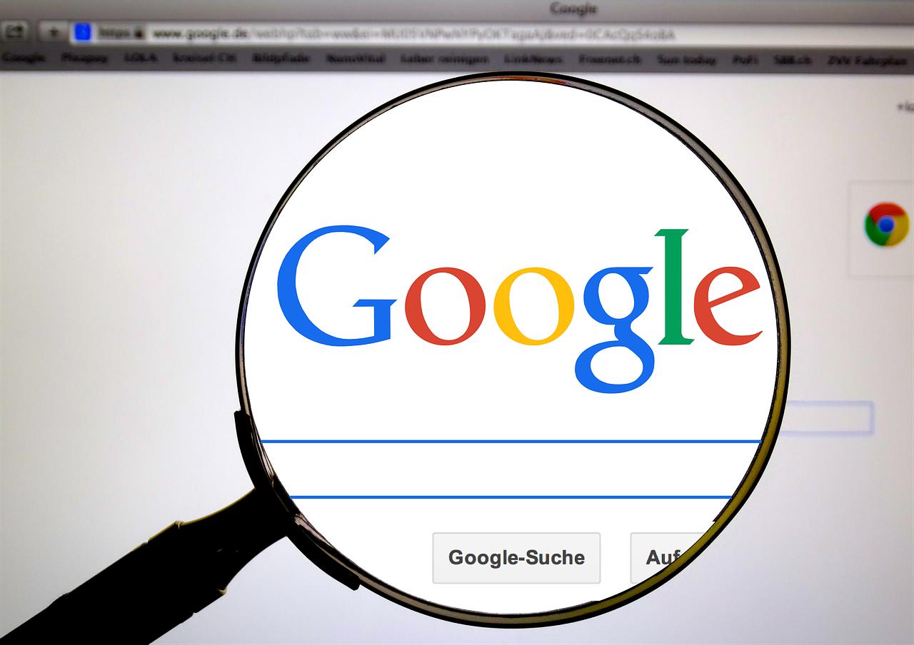 Nettleser, Google, skjermbilde